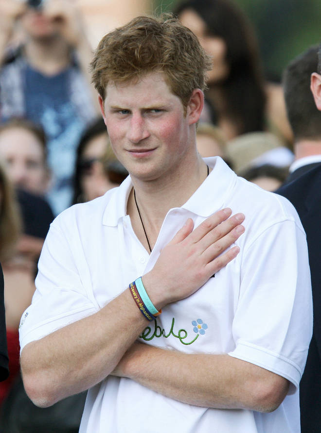 Prince Harry pictured in 2009, around the time he was linked to Caroline Flack
