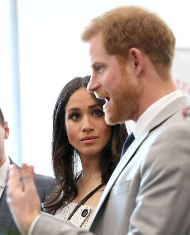 Meghan and Harry are currently laying low in Canada