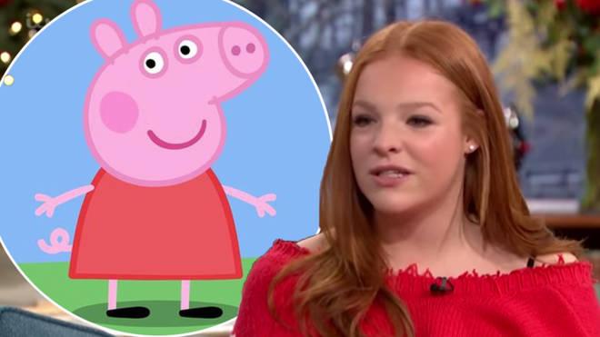 Pepper pig actress Harley Bird has quit