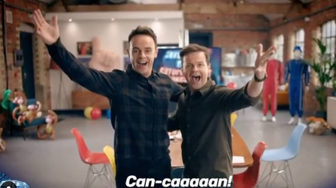 Ant and Dec are back with Saturday Night Takeaway