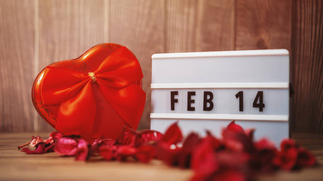 Valentine's Day takes place on 14 February (stock image)