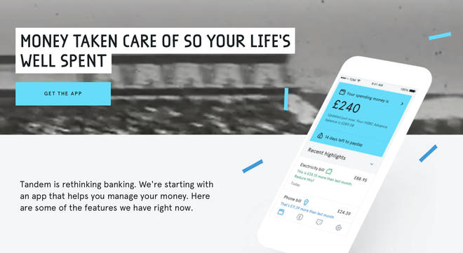 Tandem says on their site that your money is taken care of so your life's well spent
