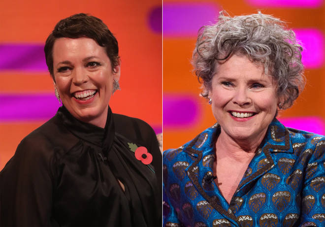 Olivia (left) currently plays the Queen, and will be replaced by Imelda (right)