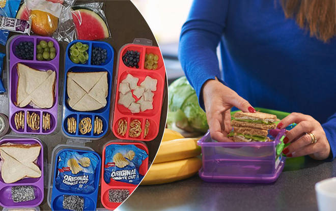 The lunchboxes have been slammed by parents
