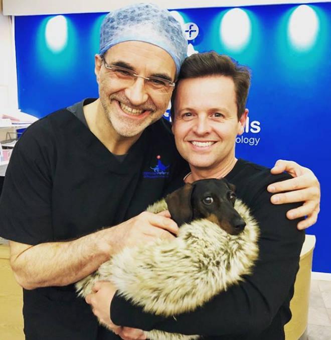 The Saturday Night Takeaway host branded telly vet Noel a 'hero'.