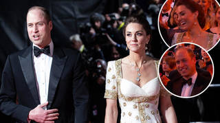 Kate Middleton and Prince William attended the BAFTAs