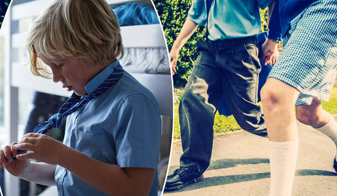 Expensive school uniforms could be banned