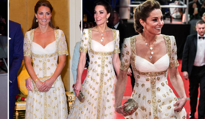 Kate Middleton followed the dress code by recycling a gown