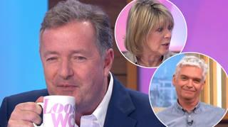 Piers Morgan made a jibe at Phillip Schofield