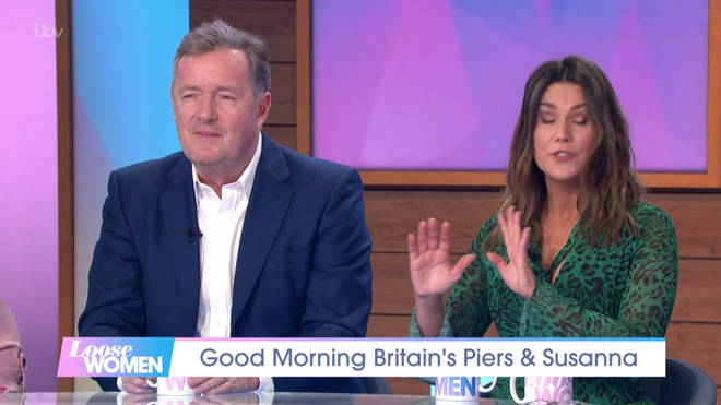 Piers made a jibe at Ruth and Phillip's feud