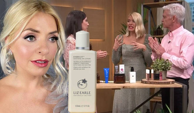 Holly Willoughby is obsessed with the Liz Earle Eyebright lotion