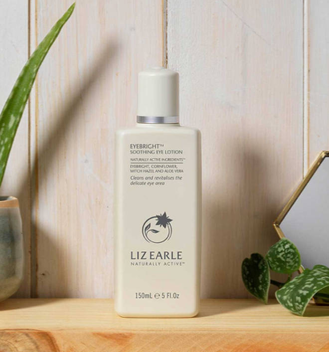 Liz Earle's Eyebright Soothing Eye Lotion is £16 a bottle