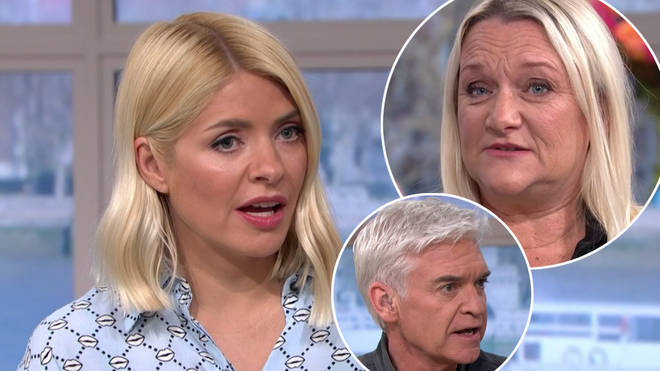 Holly Willoughby was shocked when Kimberley told her story