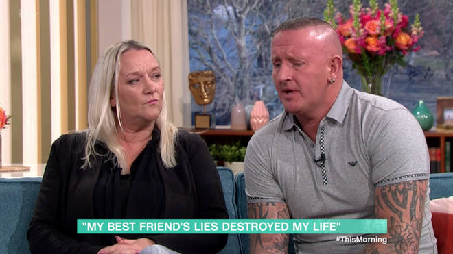 Kimberley and Phillip said their best friend ruined their wedding