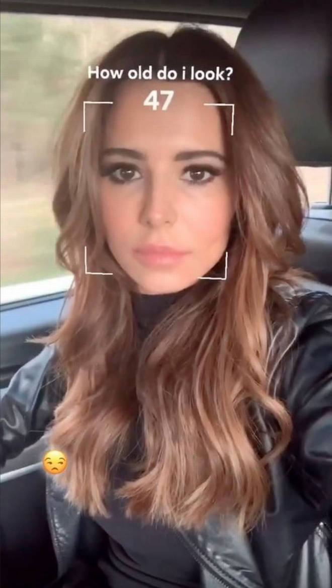 Cheryl was shocked when the app guessed she was 47