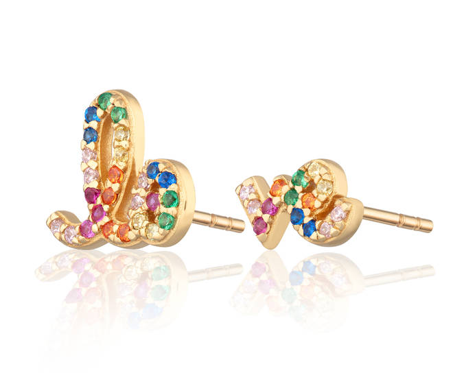 Love earrings by Scream Pretty, £35