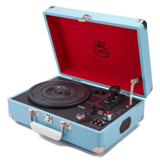 GPO Attache Record Player, £49.29