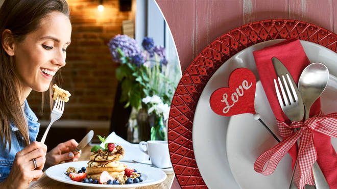 You can eat in front of a mirror on Valentine's Day
