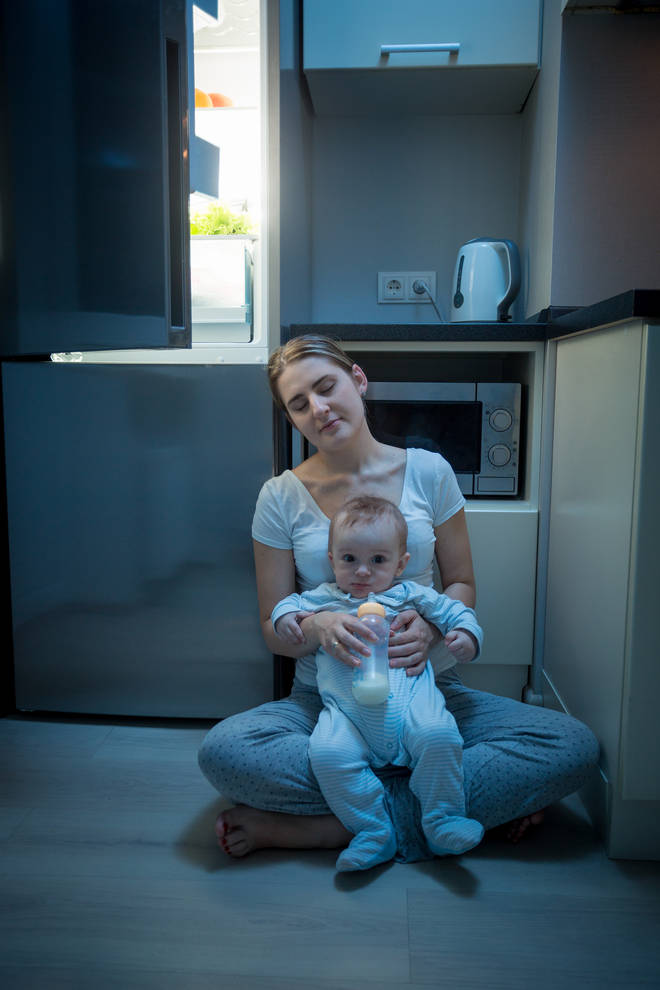Mums have praised the lights for not being too overpowering in the middle of the night (stock image)