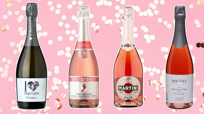 These sparkling wines are sure to bring a splash of fun to your romantic plans