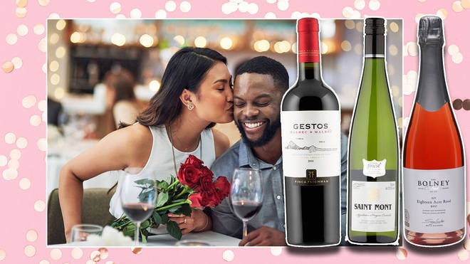 There's a perfect bottle for your Valentine's Day - whatever your plans