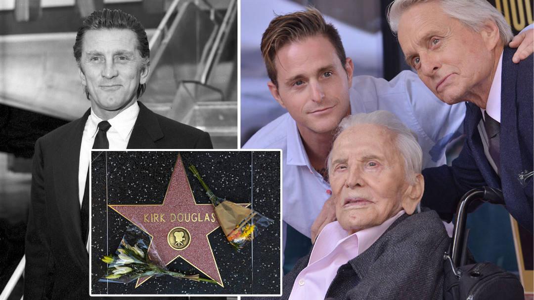 Michael Douglas Son Of Kirk Douglas