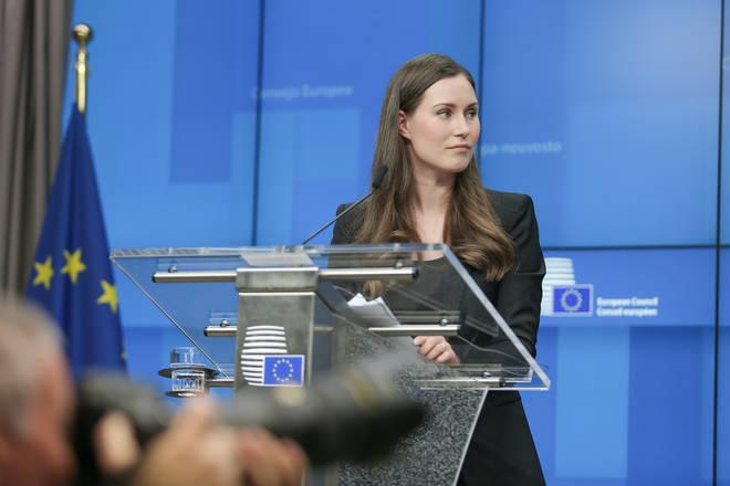 Prime minister Sanna Marin