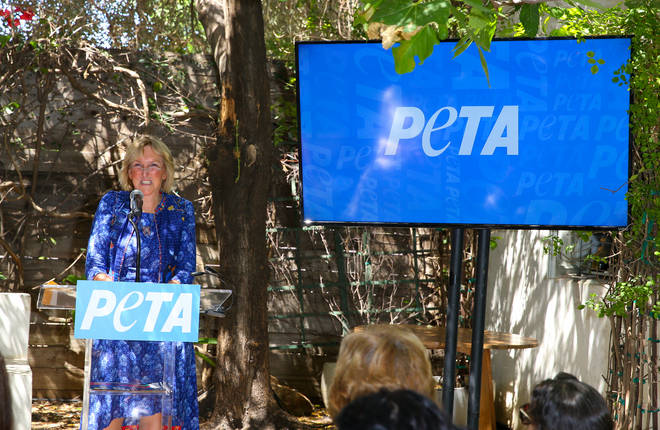 Ingrid Newkirk founded PETA