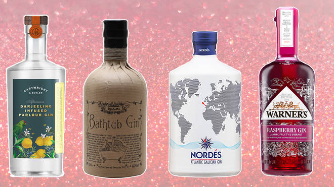There are plenty of fancy gins available that are ideal presents