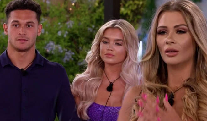 Shaughna looked shocked when she saw Callum return with Molly