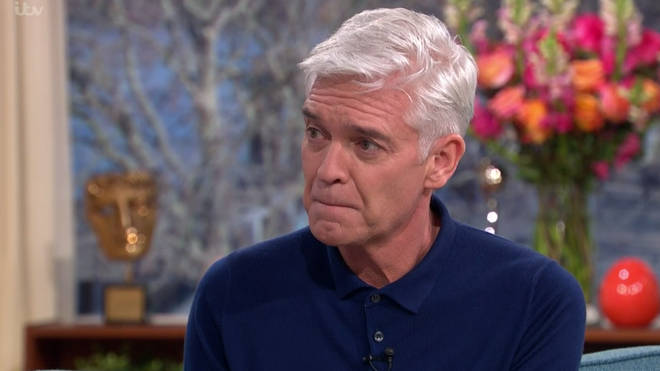 Phillip Schofield was emotional as he made his announcement on This Morning