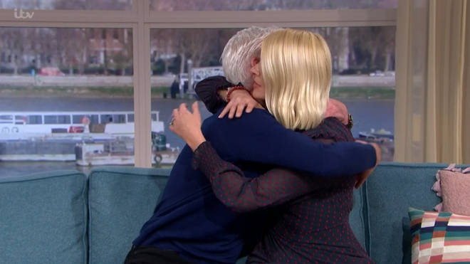 Holly interviewed Phillip on This Morning today