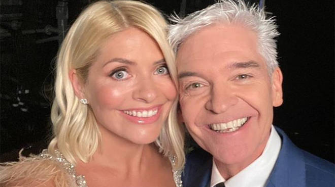 Holly Willoughby was one of the first to send a message to her best friend