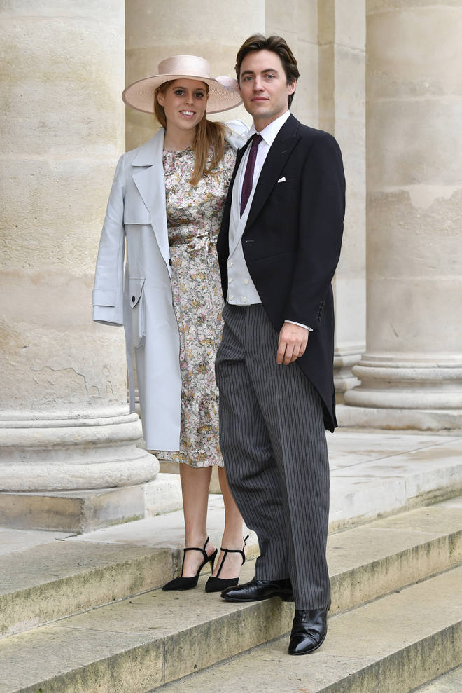 Princess Beatrice and Edoardo Mapelli Mozzi will marry in May this year