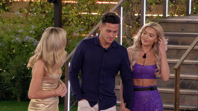 Callum was forced to explain himself on Love Island