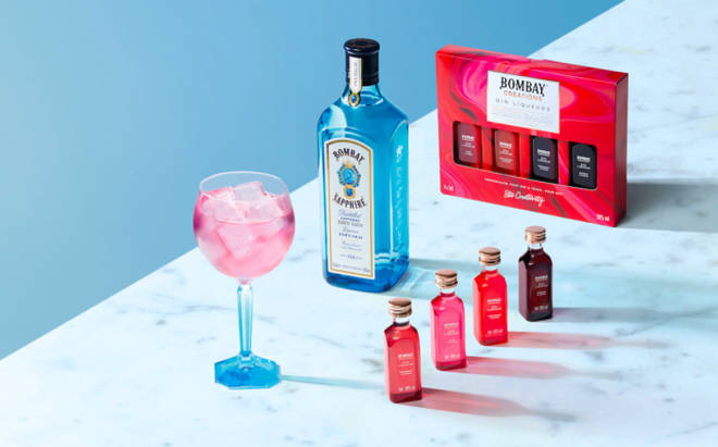 Infuse your Bombay Sapphire with one of these fruity flavours