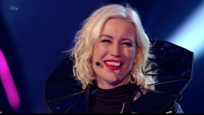 Denise Van Outen was The Fox on The Masked Singer