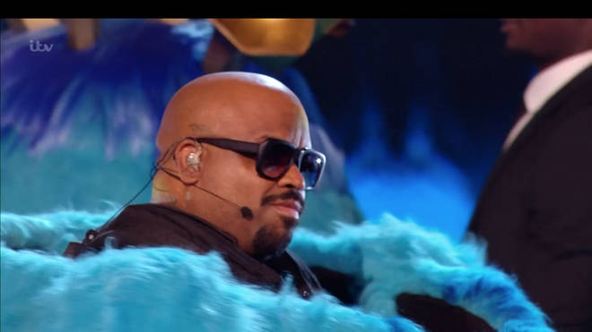 CeeLo Green was Monster on The Masked Singer