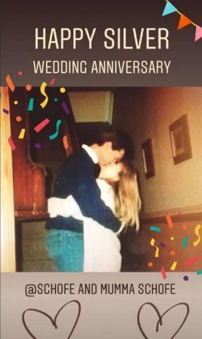 In 2018, Phil and Steph celebrated their silver wedding anniversary.