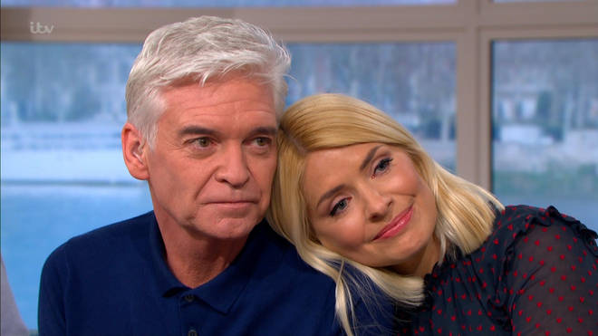The TV star has thanked his best friend Holly for her support.
