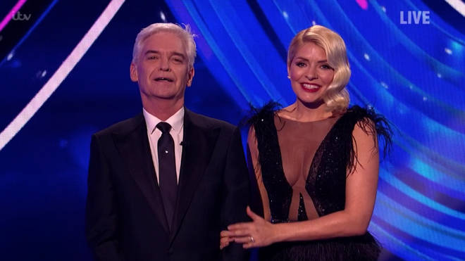Holly Willoughby placed a loving hand on Phillip Schofield's arm as he welled up