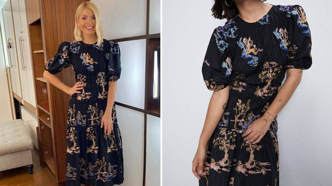 Holly Willoughby's dress is from Zara