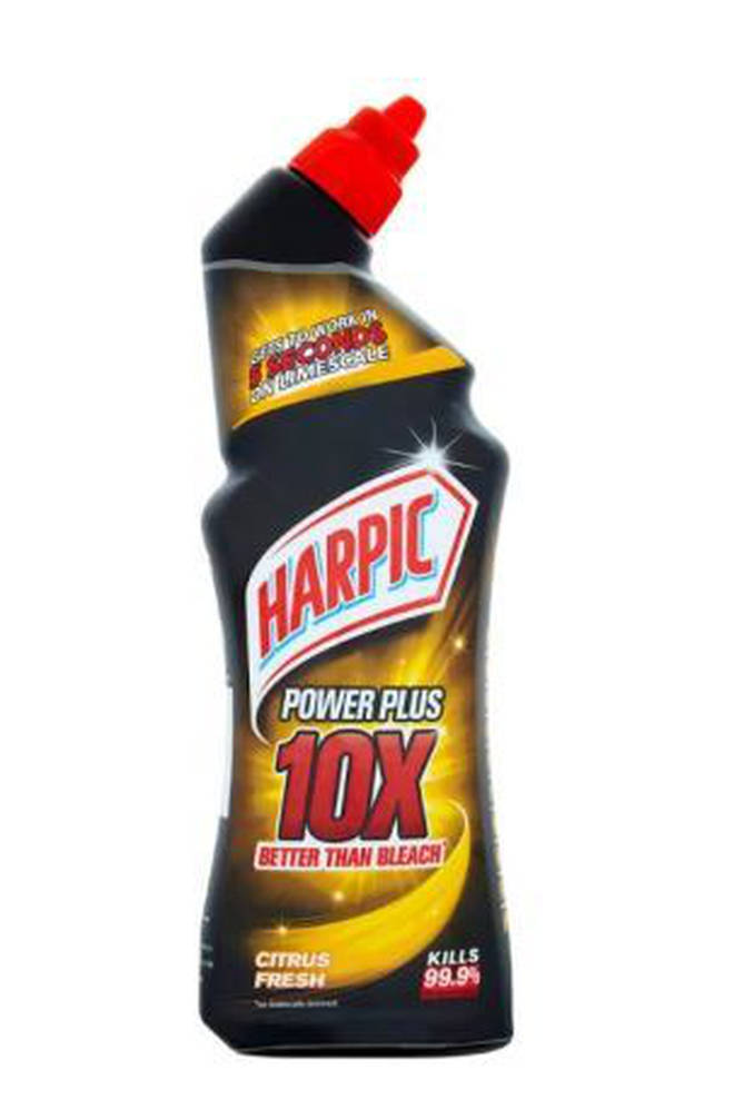 Harpic's cleaning solution only costs a pound