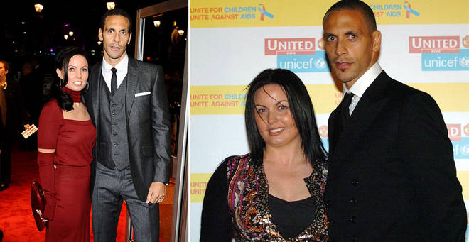 Rebecca Ellison and Rio Ferdinand got married in 2009