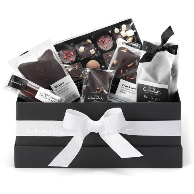 The All Dark Vegan Chocolate Hamper Collection