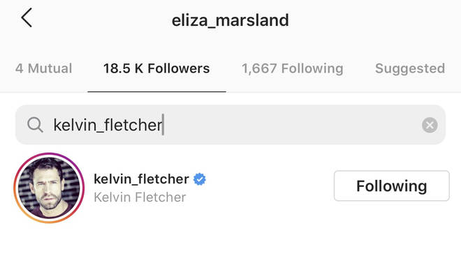Kelvin still follows Eliza