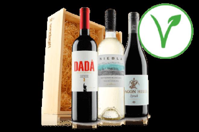 Vegan wine trio