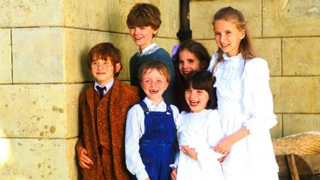 Raphael (far left) has sadly died aged 25