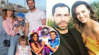 Kelvin's wife Liz has two children with him and also works in the TV industry