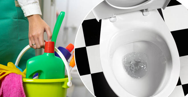 The plumber has warned against the popular cleaning hack (stock images)